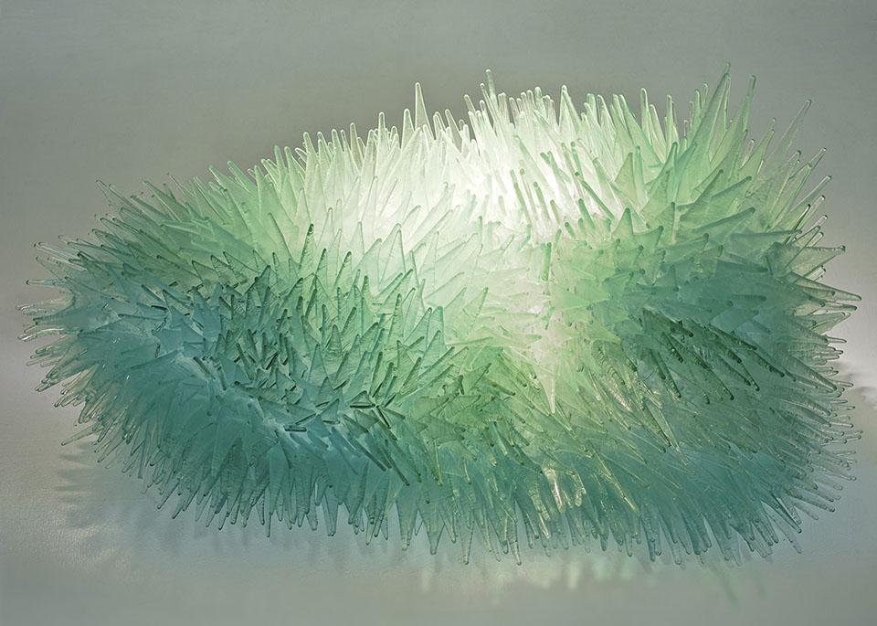 Malarstwo iszkło wGalerii
