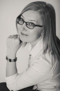 Spotkanie zlegnicką pisarką Moniką B. Janowską