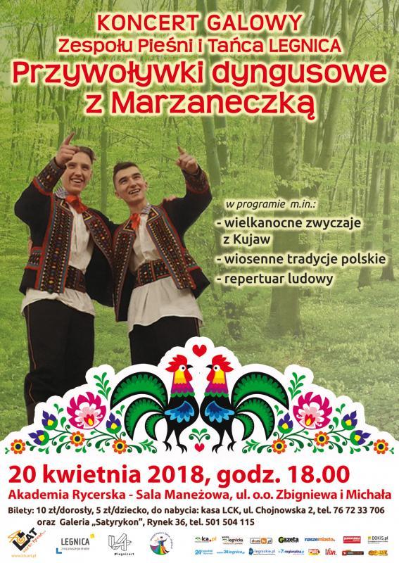 Dyngusowe przywoływki wSali Maneżowej