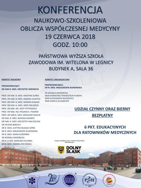 """""""Oblicza współczesnej medycyny"""" wlegnickiej PWSZ"""