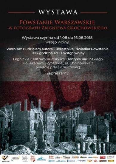 Powstanie warszawskie wfotografii Zbigniewa Grochowskiego