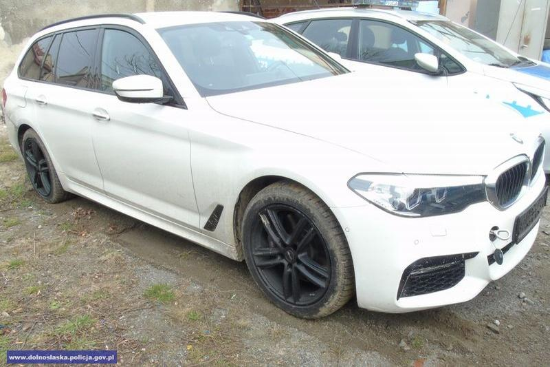 Odzyskali BMW skradzione na terenie Niemiec