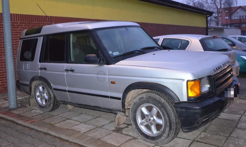 Odzyskali samochód skradziony wsąsiednim powiecie