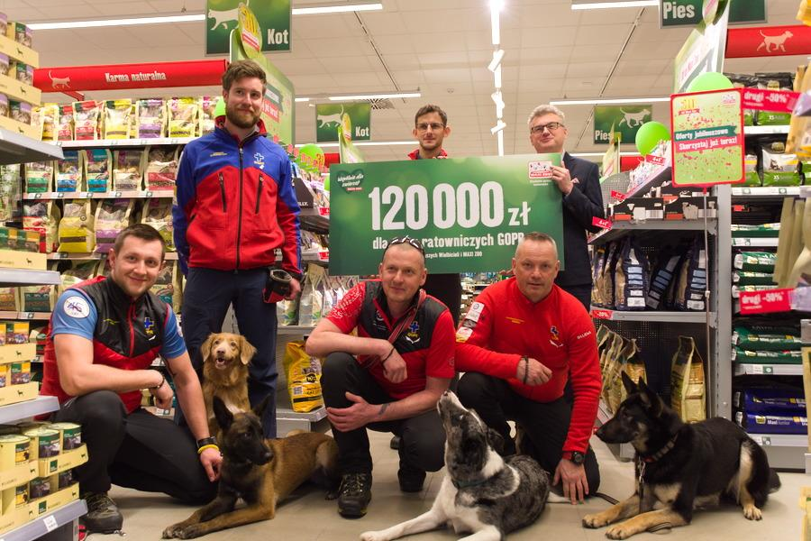 Akcja charytatywna na rzecz psów ratowniczych GOPR - 120 000 złotych!