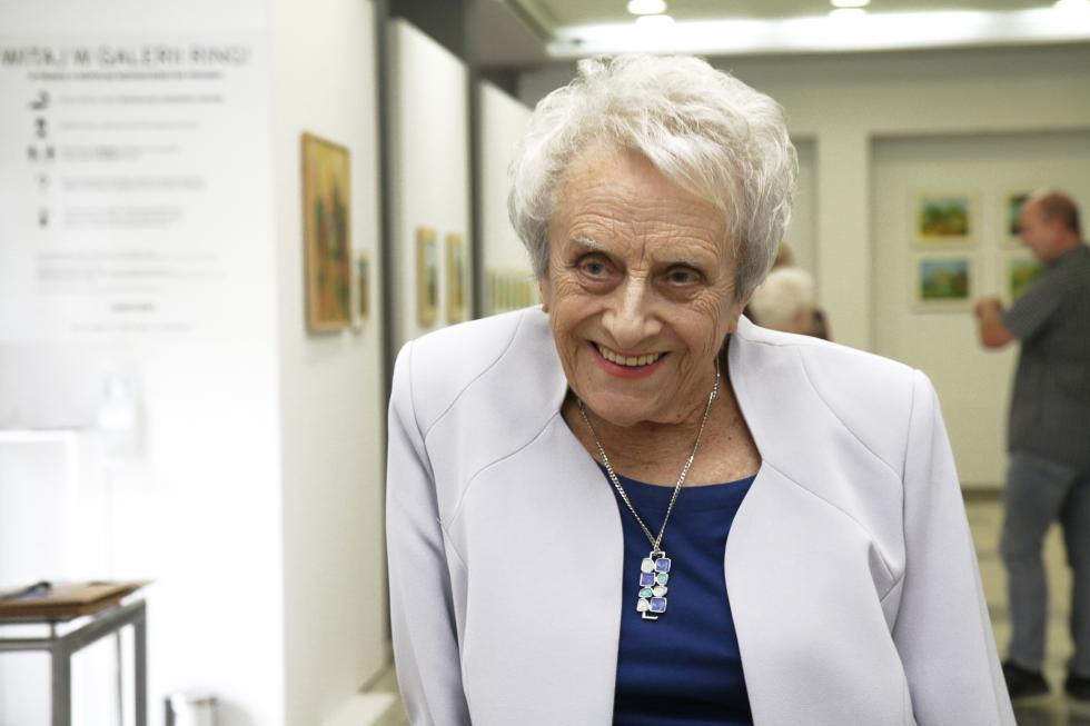 Jubileusz legnickiej artystki Marii Rogali. Obejrzyj online wernisaż
